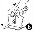 En aiguisant des couteaux très abimés avec l'aiguiseur Vulkanus