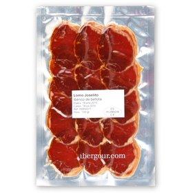 Sachet de 100 gr de lomo ibérique de bellota Joselito